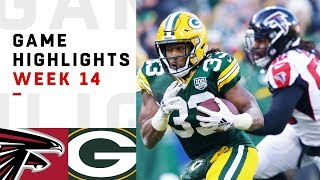Falcons vs. Packers Week 14 Highlights | NFL 2018
