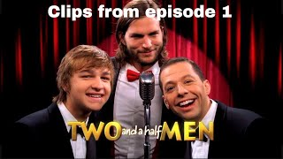 Two and a Half Men - Season 9 - Clips from Episode 1