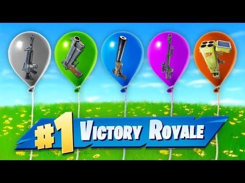 The RANDOM Balloon Challenge In Fortnite