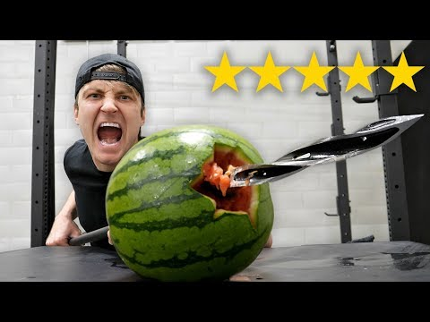 I Bought The BEST and WORST Rated WEAPONS On Amazon 5 STAR vs 1 STAR