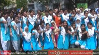 RAJSHAHI SSC  RESULT Footage & Voxpop  11 MAY 16