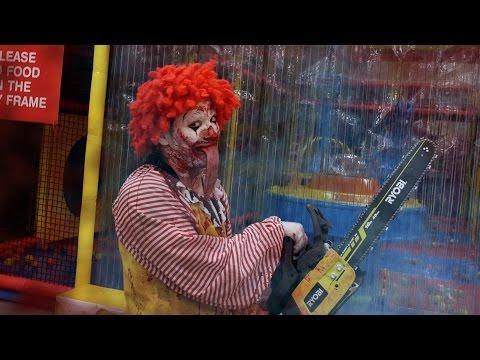 watch Ronald McDonald Playground Slaughter!