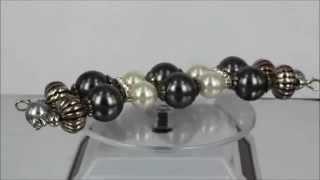 Interchangeable Beaded Watch Band