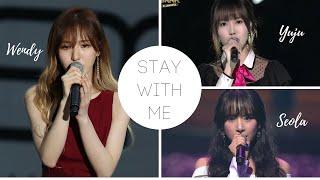 Stay With Me - Chanyeol (Wendy vs Yuju vs SeolA) 찬열 (웬디 vs 유주 vs 설아)