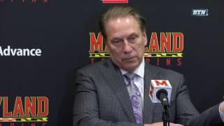 Tom Izzo - Postgame Press Conference vs. Maryland