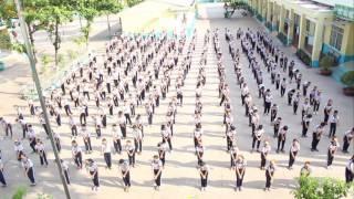Vũ điệu rửa tay của HS Tiểu học Nguyễn Chí Thanh
