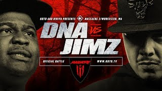 KOTD - DNA vs Jimz | #MASS3