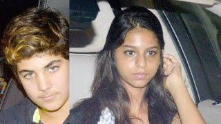 Suhana Khan and Aarav Kumar Catch 'Brother's Special Screening