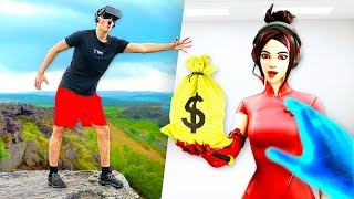 I Spent 24 Hours In Virtual Reality - Challenge