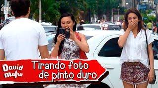 PEGADINHA: TIRANDO FOTO DE PERU DURO