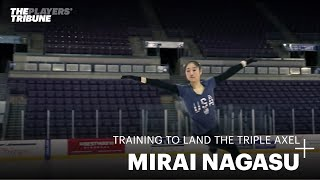 Training to Land the Triple Axel   Mirai Nagasu   US Figure Skating