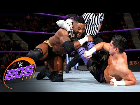 Rich Swann & Cedric Alexander vs. TJP & Tony Nese: WWE 205 Live, July 25, 2017