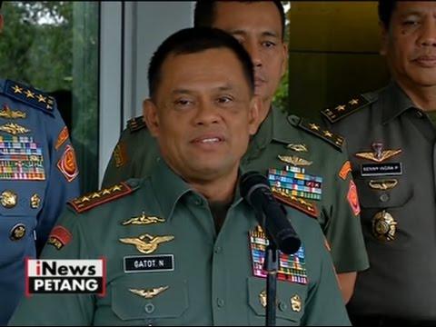 Panglima TNI Gatot Nurmantyo: Jika Kalah Pilkada, AHY Tidak Bisa Jadi TNI Lagi - iNews Petang 23/09