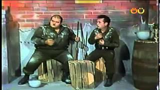 CHESPIRITO 1980/1982- El Gordo y el Flaco- La guerra- parte 1 HD