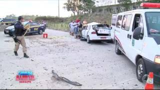 Grave acidente na BR-101 causa morte de 5 pessoas - parte II - CIDADE ALERTA