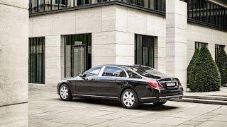 أكثر سيارة أماناً في العالم مرسيدس مايباخ اس 600 جارد