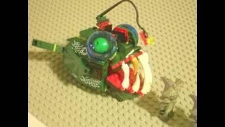 Lego short:A piranha