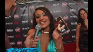 Blowguard on the red carpet at the 2010 AVN Awards