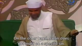 Shaarawi  - Difference between Nafs & Satan المعصية هل هي من الشيطان او من النفس - الشيخ الشعراوي