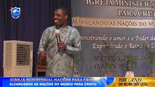 Vivendo debaixo da cobertura espiritual do Homem de Deus - Ap. Onório Cutane