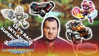 Let's Race Skylanders SuperChargers: Chompy Garden, Thump Truck and Crypt Crusher