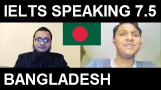 ✔ 2016 IELTS Bangladesh 8 Excellent Speaking Test Samples Band 7.5 SYED 8.5