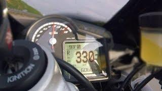 2017 motorcycles: 320 Km/H battle (1000 CC) - Suzuki, BMW, Yamaha & more...