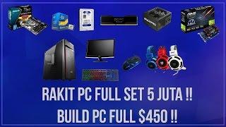 Rakit/Racik PC Gaming Fullset 5 Juta // #TechTips 1