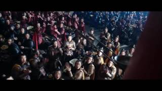 The great wall full bow scene