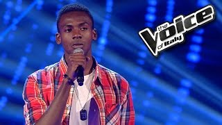 Charles Kablan - Hello | The Voice of Italy 2016: Blind Audition