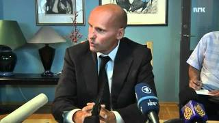 Behring Breivik's defender on English press conference