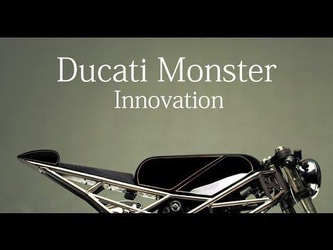 Cafe Racer Ducati Monster by Hazan Motorworks