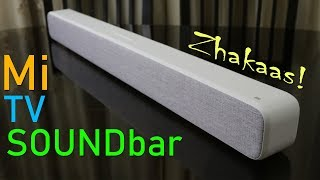 Xiaomi Mi TV Soundbar review, unboxing, features and sample, price in India Rs. 7,500 approx