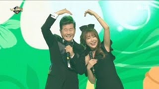 [MMF2016] Hong Jin Young X Tae Jin Ah - Thumb Up+Partner+Love Somebod One, 홍진영 - 엄지척, 161231