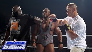 Mark Henry & Big E Langston help John Cena fend off the Shield: SmackDown, Dec. 27, 2013