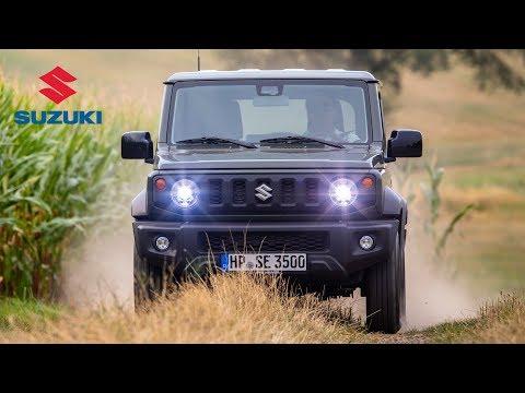 2019 Suzuki Jimny Road & Trail Driving Interior & Exterior