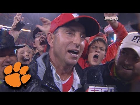 Dabo Swinney A BYOG Bring Your Own Guts Game in Win Over Notre Dame