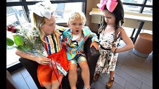 Ava CATCHES Everleigh And Tydus ON A DATE!!