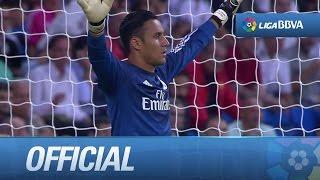 Debut de Keylor Navas con el Real Madrid en La Liga