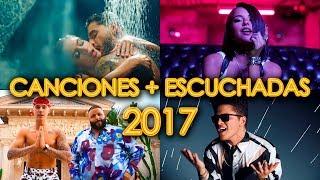 CANCIONES MÁS ESCUCHADAS 2017 - VIDEOS MÁS VISTOS EN YOUTUBE DE MÚSICA - PARTE 2 | WOW QUE PASA