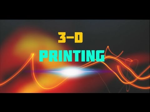 Science Documentary 3D Printing 3D Imaging Ultra Fast Laser Imaging Technology