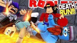 ROBLOX Adventure - DEATH RUN - ROPO IS THE KILLER!!!