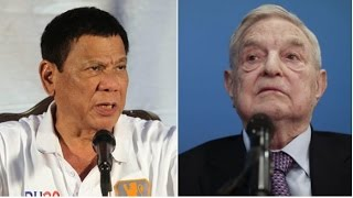 """PRESIDENT DUTERTE WARNS GEORGE SOROS! THERE IS A """"BOUNTY ON YOUR HEAD""""!"""