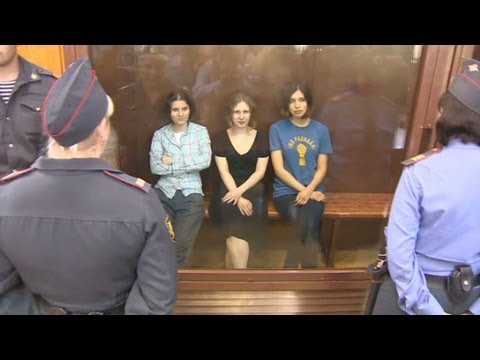 Xxx Mp4 Pussy Riot Sentenced For Putin Protest 3gp Sex