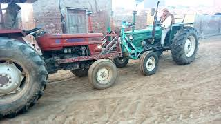 FIAT 640 Tractor Cold Start  in Winter, FIAT 640 Tractor Starting Must Watch 2018