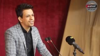 اقوى مهرجانات جامعة بغداد || الشاعر علي جوده  || مهرجان القافيه الحسينيه 7