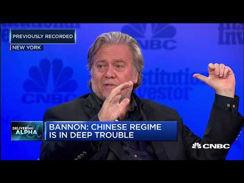Bannon We re at an economic war with China Squawk Box Europe