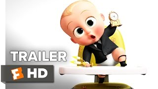 The Boss Baby Trailer #2 (2017) - Alec Baldwin Movie