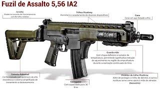 Novo Fuzil IA2 - Forças Armadas do Brasil Créditos IMBEL