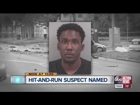 St. Pete police identify hit and run suspect
